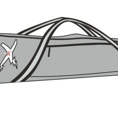 Skidfodral Silver
