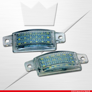 License LED for Volvo 745 945