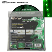 5M Ultrabright LED Roll GREEN
