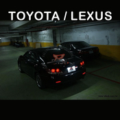 Toyota Lexus LED License Lamp