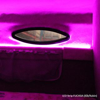 1M Ultrabright LED Strips FUCHSIA