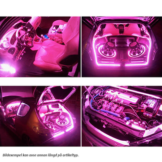 1M Ultrabright LED Strips FUCHSIA