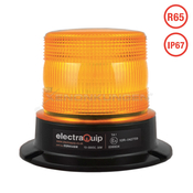 LED Warning Beacon R65 Amber