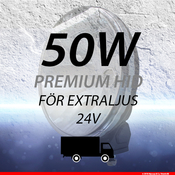 Extraljussats 50W 24V
