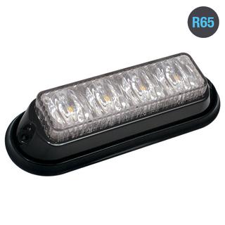 4LED Warning Light R65 Amber