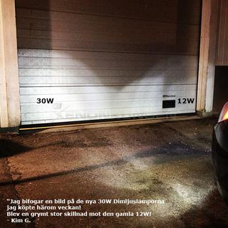 BA15S 30W Foglight LED