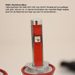 BMW H8 RGB WIFI