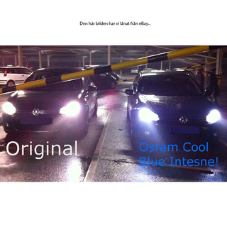 H15 Osram Cool Blue Intense