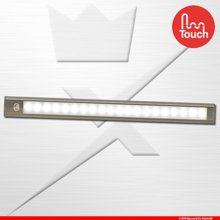 410mm Interior Strip Touch Grey