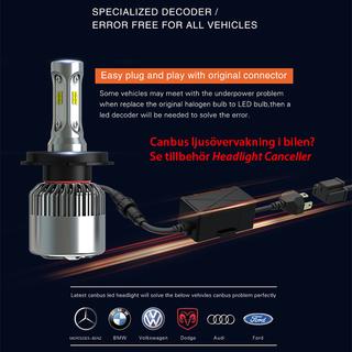 LEDISON S2 Headlights - PSX26