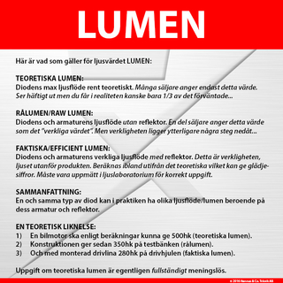 Luxtar 4LED-INBYGGD