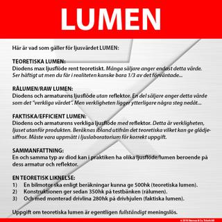 Luxtar 6LED INBYGGD