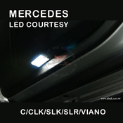 Mercedes W203 LED Courtesy