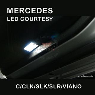 Mercedes W203 LED Courtesy