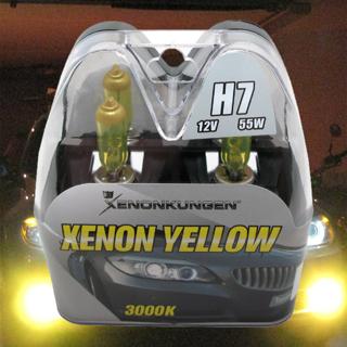 H7 Foglight Yellow