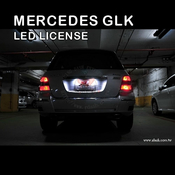 Mercedes GLK LED License