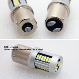 BA15S 30SMD 12-24V Yellow