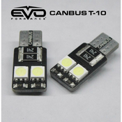 CANBUS T10 4LED - BLUE