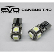 CANBUS T10 5LED - BLUE