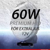 Extraljussats 60W
