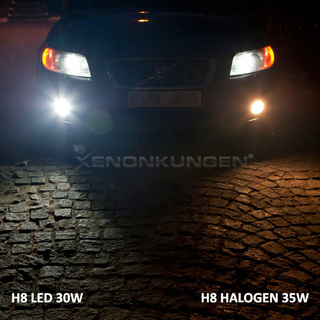 H8 30W Foglight LED