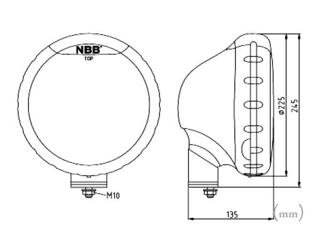 3-PACK NBB225 75W Xenon