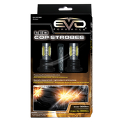 6W LED COP STROBES - AMBER