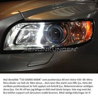 T10 10SMD LED 6000K