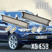 BMW X5 E53 LED Roof