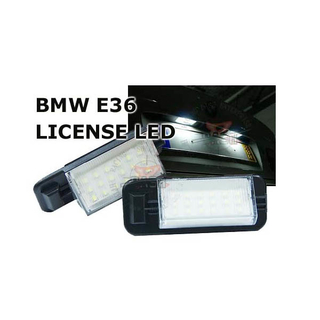 BMW E36 License LED