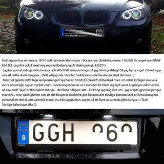 BMW License LED - A