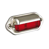 Step Lamp Chrome Red