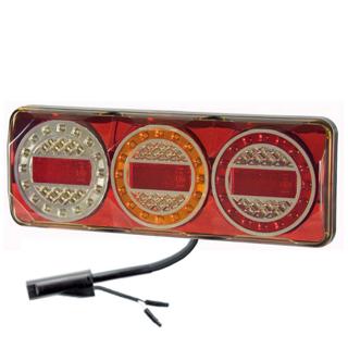 Maxilamp 3XRW 1.8M Kabel Höger