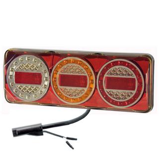 Maxilamp 3XRW 2.4M Kabel Höger