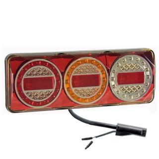 Maxilamp 3XRW 2.4M Kabel Vänster