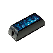 3 LED Warning Light BLUE