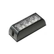 3 LED Warning Light WHITE
