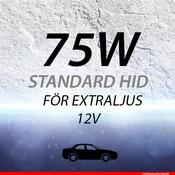 Extraljussats 75W