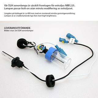 3-PACK NBB225 60W Xenon