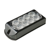 8 LED Warning Light WHITE