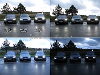 BMW LED E90 -2007 (Xenon)