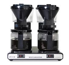 Moccamaster KBG744 AO Black - kaffebryggare för perfekt kaffe på jobbet