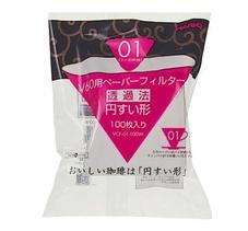Hario - V60 01 - Vita Pappersfilter till 1kopp