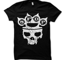 FIVE FINGER DEATH PUNCH - T-SHIRT, MY KNUCKLES
