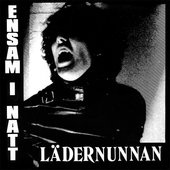 "LEATHER NUN - ENSAM I NATT, 7"" VINYL RE-ISSUE"