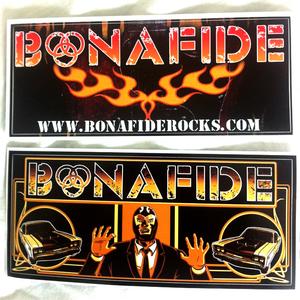 BONAFIDE - 2 STICKERS
