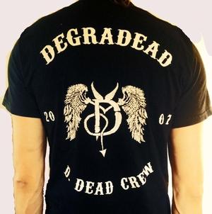 DEGRADEAD - T-SHIRT, D-CREW