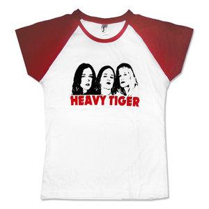 HEAVY TIGER - BASEBALL GIRLIE, LOGO