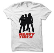 HEAVY TIGER - T-SHIRT, BAND LOGO