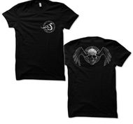 SPARZANZA - T-SHIRT, SKULL WINGS